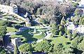 Vatikan, Blick vom Petersdom zu den Gärten.JPG