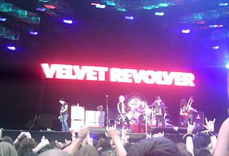 Velvet Revolver - Velvet Revolver performing at Download Festival in 2005.