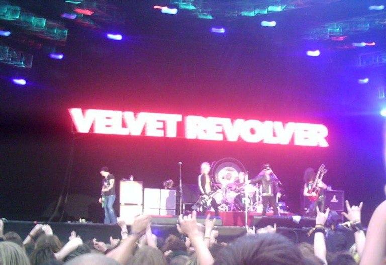 Velvet Revolver, Download Festival 2005