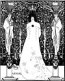 Venus between terminal gods beardsley.jpg