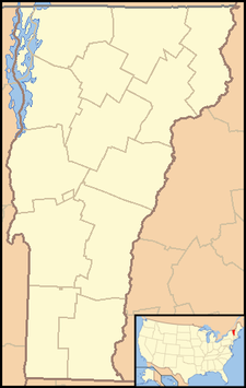 Albany is located in Vermont