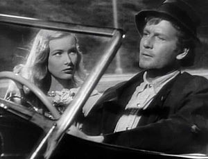 Veronica Lake - Lake in her first starring role, opposite Joel McCrea in Sullivan's Travels (1941)