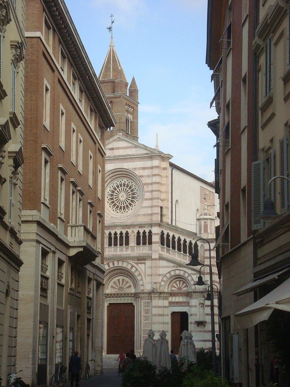 Via Manin Scorcio del Duomo Grosseto