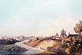 Viciebsk, Vićba-Płoskaja hara. Віцебск, Віцьба-Плоская гара (J. Pieška, 1800).jpg