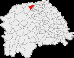Vị trí của Vicovu de Jos