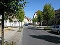 View along Bahnhofstrasse to Holzmarkt, Haldensleben - geo.hlipp.de - 4900.jpg