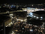 View from Frauenkirche Dresden by night 02.JPG