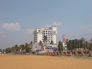 Kollam Beach - Snap from Kollam Beach