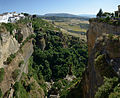 View from Puente Nuevo bridge in Ronda Spain.jpg