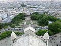 View from the Basilique du Sacré-Cœur de Montmartre, 17 June 2012.jpg
