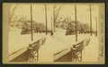 View of people and steetcars after a major snowstorm, from Robert N. Dennis collection of stereoscopic views.png
