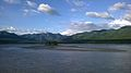 View of purnagiri hills from barrage road Tanakpur.jpg