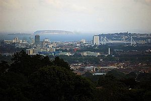 View over Cardiff
