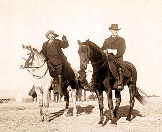 Frank Baldwin - Baldwin (right) with Buffalo Bill in 1891