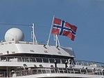Viking Sea flag Port of Tallinn 3 June 2018.jpg