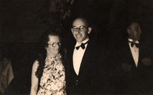 Wireless Weekly - Violet McKenzie and husband Cecil McKenzie c1935
