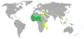 Visa requirements in the world for Ivorian citizens.png