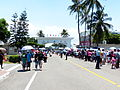 Visitors Passing through Main Road of Tainan Air Force Base 20130810.jpg