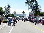 Visitors Passing through Main Road of Tainan Air Force Base 20130810.jpg