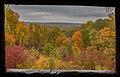 Vista desde la torre de observación, Parque Estatal Brown County, Indiana, Estados Unidos, 2012-10-14, DD 02.jpg