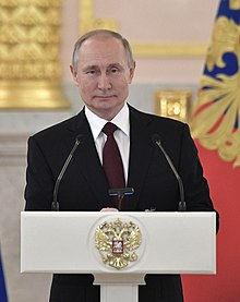 Vladimir Putin with Ambassadors to Russia (2020-02-05) 26 (cropped).jpg