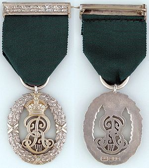 Volunteer Officers' Decoration - King Edward VII version