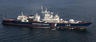 Krivak-class frigate - In 2009 Vorovskiy in Port Angeles