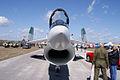 Vought F-8K Crusader 146985 HeadOn TICO 13March2010 (14598886742).jpg