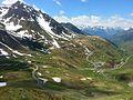 Vue vers l'ouest, vers 2000m, et la vallée du Bastan - panoramio.jpg