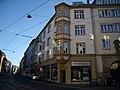 Würzburg - Sanderstraße 2 Portal und Sandsteinerker.jpg
