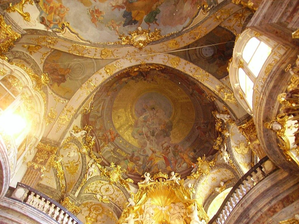 Würzburg Hofkirche Innen Decke