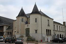 The town hall of Doué-la-Fontaine
