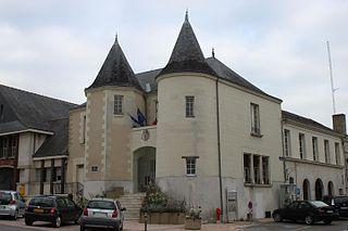 Part of Doué-en-Anjou in Pays de la Loire, France