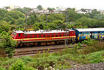 WAP-4 loco with Bhagyanagar Express