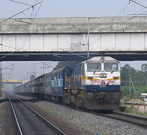 Konark Express - Image: WDP4D 05112016