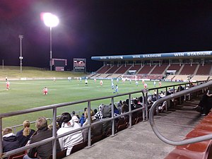 Wollongong Showground - Image: WIN Stadium 5