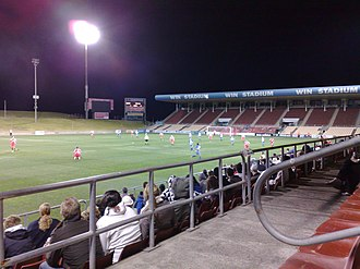 Wollongong Wolves FC - WIN Stadium