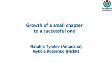 WMUA. Growth of a small chapter to a successful one.pdf