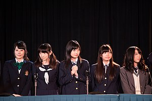 Wake Up, Girls! - Wake Up, Girls! cast members at Anime Central 2014.