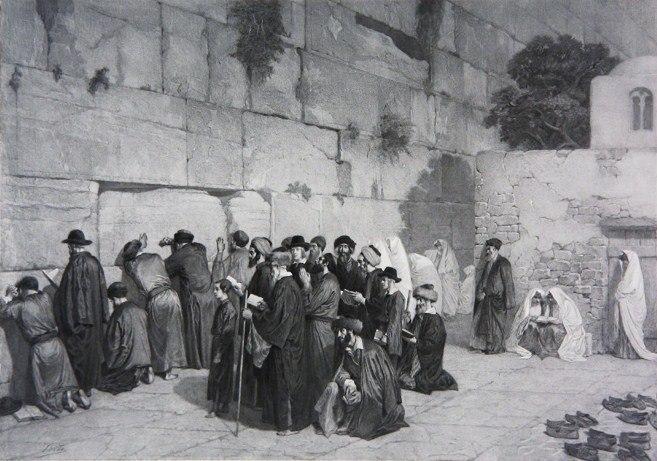 Wall of Solomon, c1880