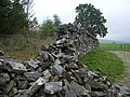 Wall up and down - geograph.org.uk - 244409.jpg