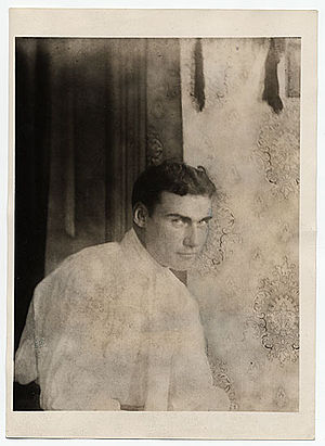 Walt Kuhn - Portrait of Walt Kuhn as a young man, from the Archives of American Art, Smithsonian Institution
