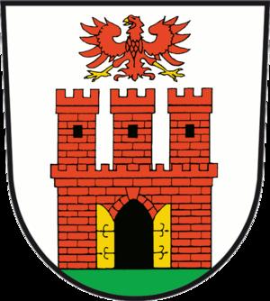 Oderberg - Image: Wappen Oderberg