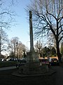 War memorial in the churchyard at St Mary's, Portsea - geograph.org.uk - 693306.jpg
