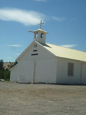 Warm Springs, Oregon - A church in Warm Springs