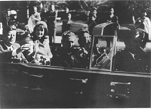 Peter R. de Vries - Kennedy moments before his assassination.