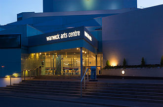 University of Warwick - Warwick Arts Centre at night