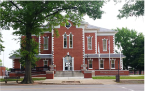 Washington County, Illinois - Image: Wash Co IL Courthouse after 2016 Renovations