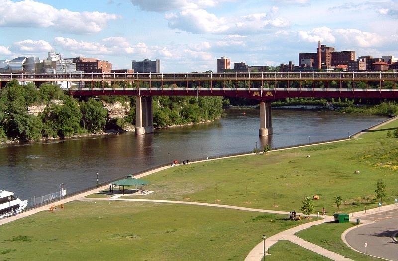 Washington Avenue Bridge Minneapolis