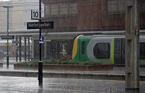 English: London Midland Desiro EMU 350125 call...